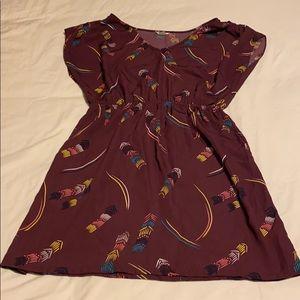 🍁3/$15🍁 Purple Fossil Dress